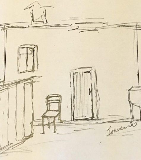 Sousanna Stratmann Drawing, Sousanna: The Lost Daughter